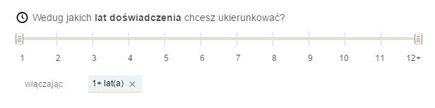 Targetowanie według doświadczenia - reklama na LinkedIn - blog bartek-radniecki.com