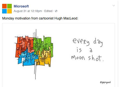 Firmę Microsoft stać na dystans do samej siebie